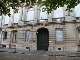 ambassade chine Paris
